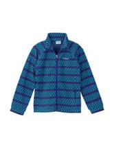 Columbia Chevron Print Fleece Jacket – Girls 4-6x