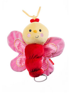 Fisher-Price® Butterfly Plush Musical Pull Toy