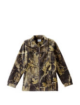 Columbia Timberwolf Camo Print Fleece Jacket – Boys 8-20