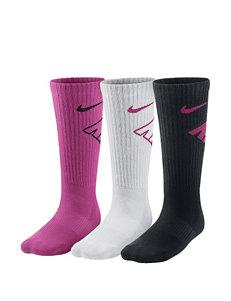 Nike 3-pk. Graphic Crew Socks – Boys