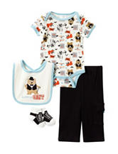 Baby Gear 4-pc. Bear Gent Pant Set – Baby 0-12 Mos.