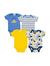 Baby Gear 4-pk. Bad to the Bone Bodysuit Set - Baby 0-9 Mos.