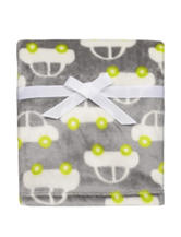 Baby Starters Yummy Grey Car Blanket