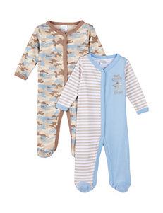 Baby Gear 2-pk. Thank Heaven for Little Boys Sleeper Set - Baby 0-9 Mos