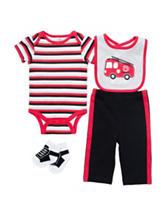 Baby Gear 4-pc. Hot Stuff Bodysuit Set – Baby 3-12 Mos.