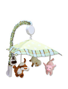 Trend Lab Baby Barnyard Musical Crib Mobile
