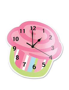 Trend Lab Cupcake Shaped Wall Clock