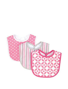 Trend Lab Lily 3-pk. Bib Set
