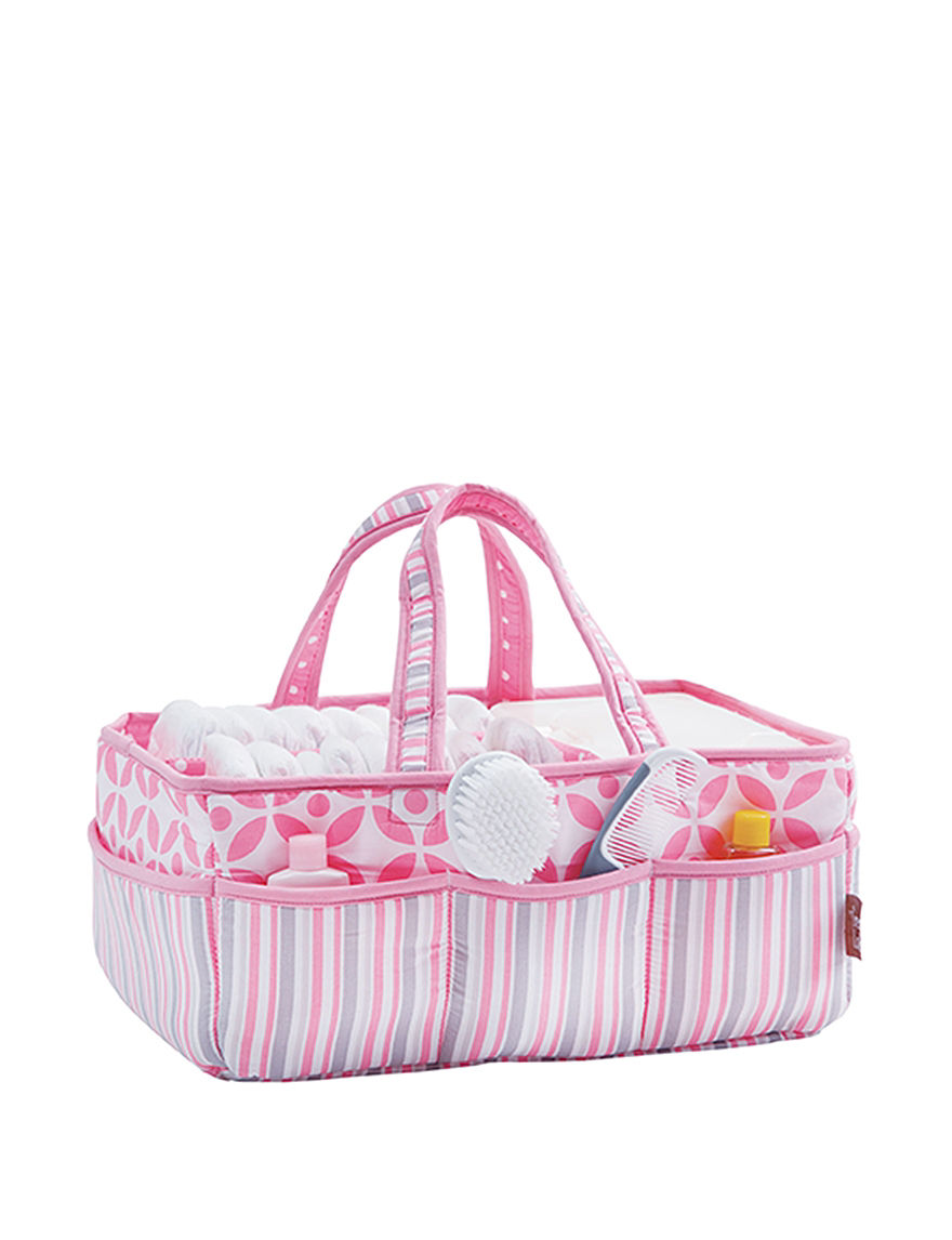 Trend Lab Pink Carriers & Totes Diaper Bags