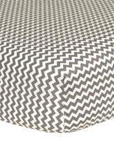 Trend Lab Ombre Grey  Chevron Fitted Crib Sheet