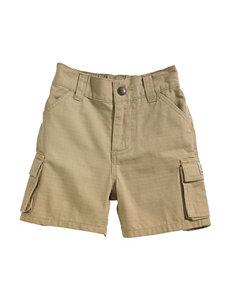 Carhartt® Beige Ripstop Cargo Shorts – Toddler Boys