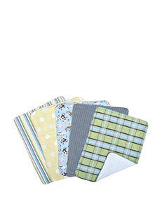 Trend Lab Baby Barnyard 5-pk. Burp Cloth Bundle Box Set