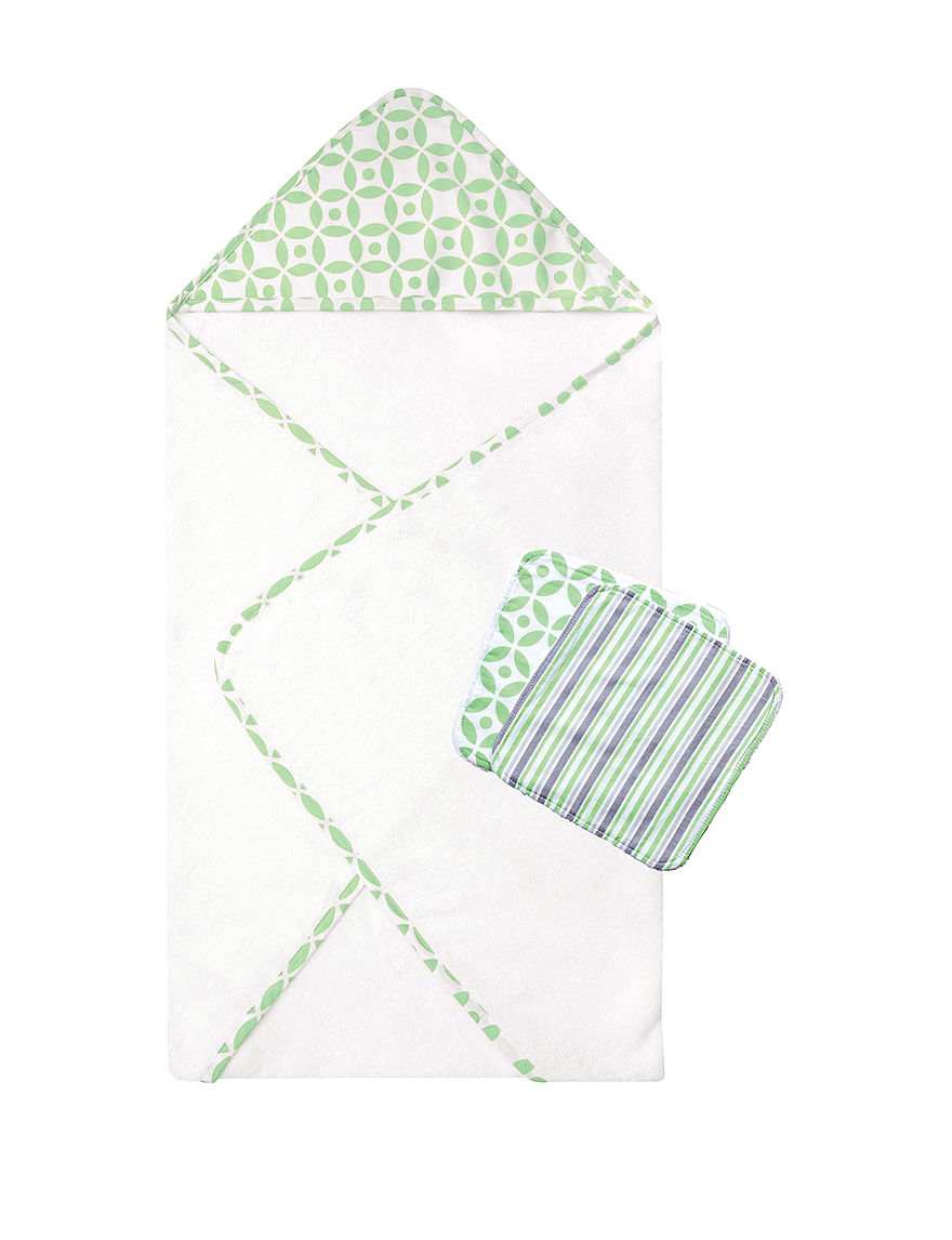 Trend Lab Green Towels
