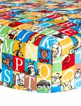 Dr. Seuss Alphabet Squares Crib Sheet by Trend Lab