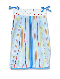 Dr. Seuss One Fish Two Fish Diaper Stacker by Trend Lab