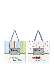 Dr. Seuss One Fish Two Fish Frame Set by Trend Lab
