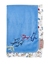 Dr. Seuss One Fish Two Fish Ruffled Receiving Blanket by Trend Lab