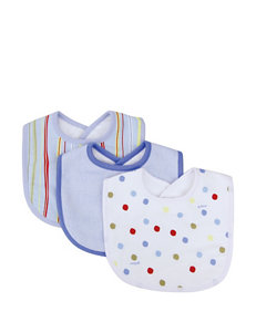 Dr. Seuss One Fish Two Fish 3-pk. Bib Set by Trend Lab