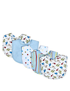 Dr. Seuss One Fish Two Fish 5 Pack Bib Set by Trend Lab