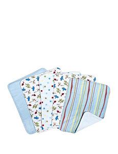 Dr. Seuss One Fish Two Fish 5-pk. Burp Cloth Bundle Box Set