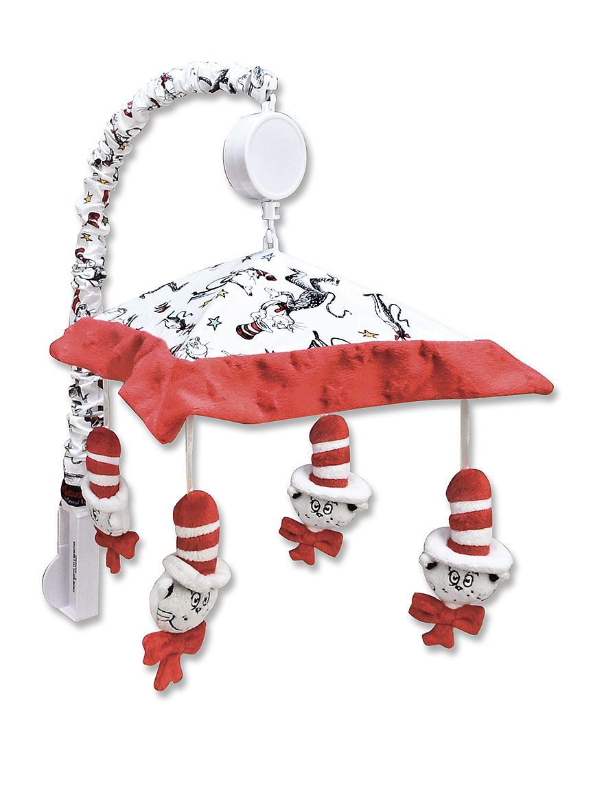 Licensed Red / White Sound & Light Soothers