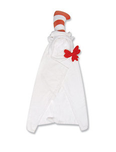 Licensed White / Red Hooded Towels