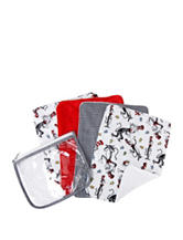 Dr. Seuss The Cat in the Hat 4-pk. Burp Cloth Zip Pouch Set by Trend Lab