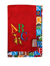 Dr. Seuss Alphabet Receiving Blanket by Trend Lab