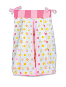 Licensed Pink / White Diaper Bags
