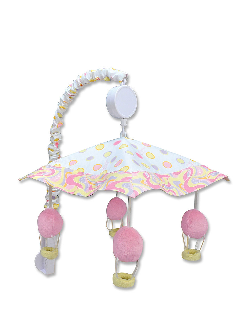Licensed Pink / White Sound & Light Soothers