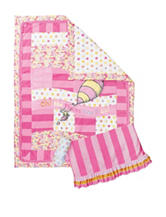 Dr. Seuss Pink Oh, The Places You'll Go! 3-pc. Crib Bedding Set by Trend Lab