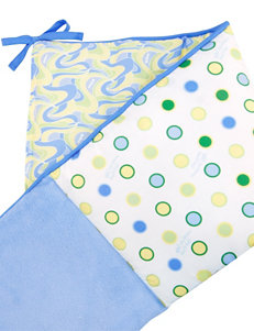 Dr. Seuss Blue Oh, The Places You'll Go! Crib Bumpers by Trend Lab