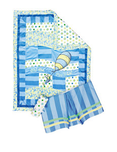 Dr. Seuss Blue Oh, The Places You'll Go! 3-pc. Crib Bedding Set by Trend Lab
