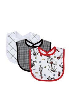 Dr. Seuss The Cat in the Hat 3-pk. Bib Set by Trend Lab