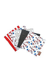 Dr. Seuss Cat in the Hat Things Bouquet 5-pk. Wash Cloth Set by Trend Lab