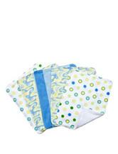 Dr. Seuss Blue Oh, The Places You'll Go! 5-pk. Burp Cloth Bundle Box Set by Trend Lab