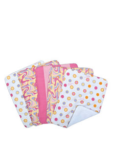 Dr. Seuss Pink Oh, The Places You'll Go! 5-pk. Burp Cloth Bundle Box Set by Trend Lab