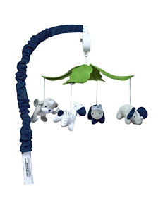 Trend Lab Perfectly Preppy Navy Musical Crib Mobile
