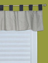 Perfectly Preppy Window Valance by Trend Lab