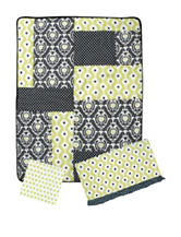 Waverly Rise & Shine 3-pc. Crib Bedding Set
