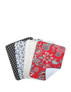 Waverly Charismatic Bouquet 4-pk. Burp Cloth Set