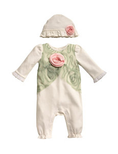 Anne Geddes Sleeper with Hat - Baby 3-12 Mos.