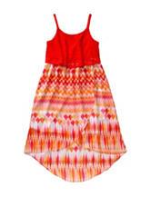 Emily West Aztec Print Popover Dress – Girls 7-16 Plus