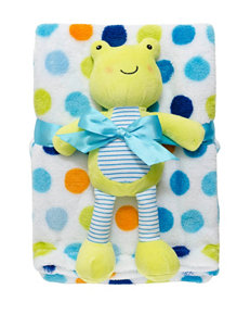 Baby Gear Bright Dot Froggy Blanket – Baby
