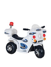Lil' Rider SuperSport 3-Wheel Ride-On Motorcycle – White