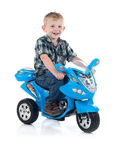 Lil' Rider Blue Baron Motorized Ride-On Trike