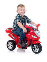 Lil' Rider Red Baron Motorized Ride-On Trike