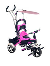 Lil' Rider 2-in-1 Tricycle & Trike Trainer – Pink