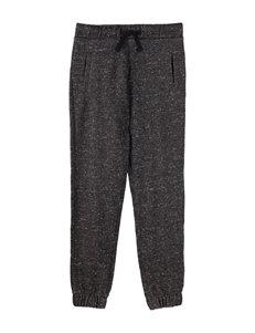 Rustic Blue Carey Space Knit Jogger Pants –Boy's 8-20