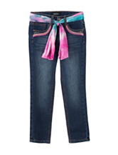 Squeeze Tie Dye Sash Bootcut Jeans – Toddlers & Girls 4-6x